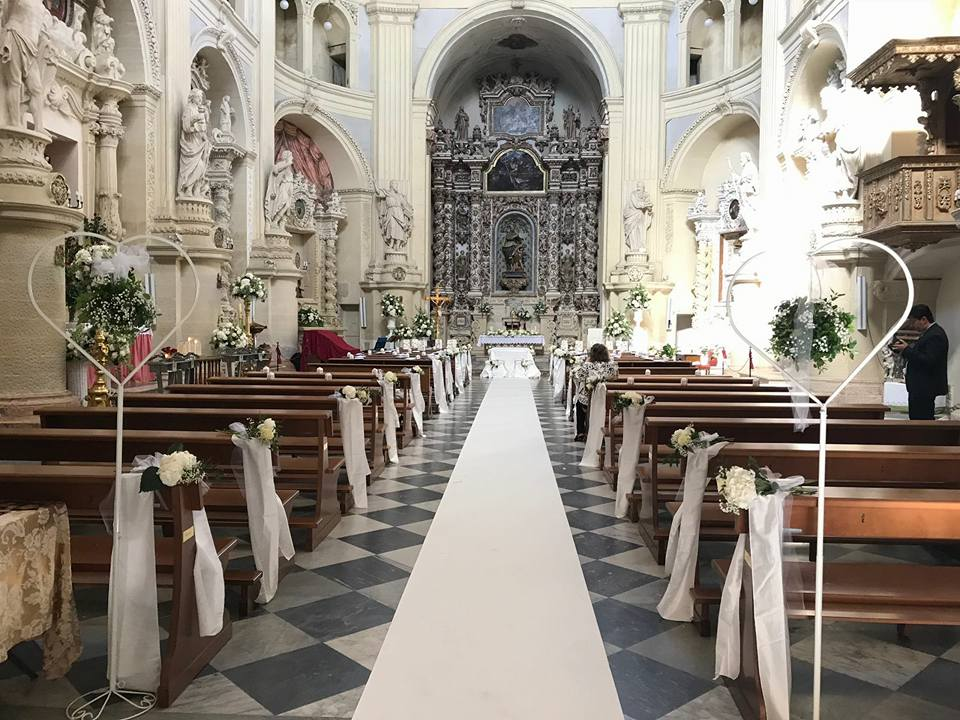 Matrimonio In Chiesa : Addobbi floreali matrimonio in chiesa fiorista fiori per la chiesa